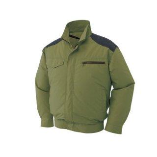 【空調服のみ】サンエス空調風神服KU93500肩パッド付長袖ブルゾン