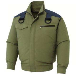 【空調服のみ】サンエス空調風神服KU93500Fフルハーネス用長袖ブルゾン