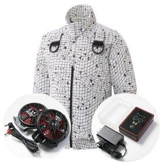 アタックベース 093/The tough 空調風神服 フルハーネス用・バッテリーセット(ハイパワー)