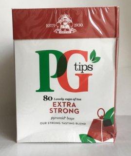 【アウトレット】PGティップスストロング(80袋入り) ピラミッド型ティーバッグ