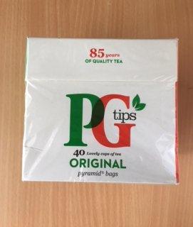 【アウトレット】PGティップス(40袋入り) ピラミッド型ティーバッグ