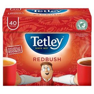 テトリ−・レッドブッシュ(ルイボス)・ 40袋入り・Tetley Tea Redbush (Rooibos)