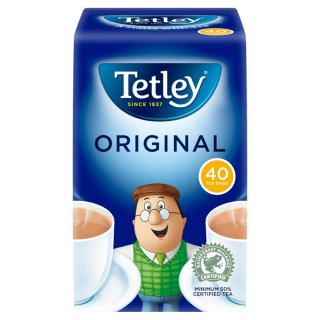 テトリ−・オリジナル・40袋入り・Tetley Tea Original 40TB