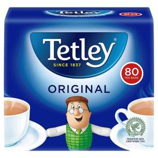 テトリ−・オリジナル・80袋入り・Tetley Tea Original 80TB