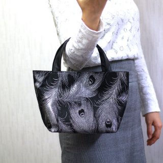 【ふじやま織】手提げバッグ(マグネット)