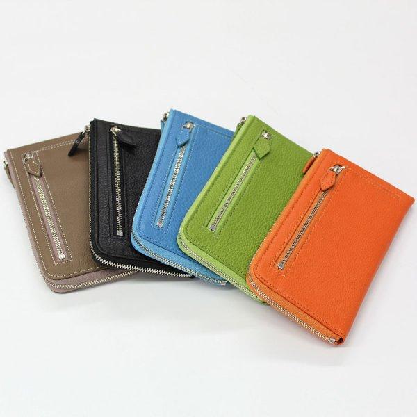 【のむら】1万円札を折らずに入る最少サイズの長財布