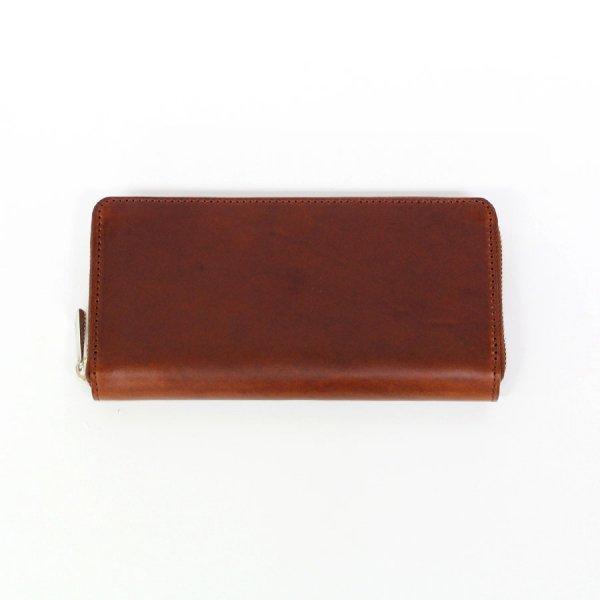 【BASE LEATHER(ベースレザー)】マレンマ ラウンドファスナー長財布