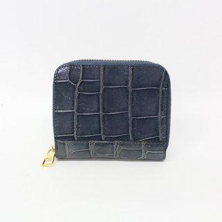 【S.sakamoto】シャイニングクロコダイル折財布