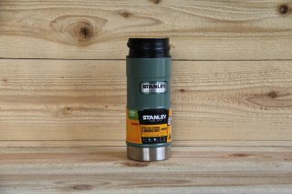 STANLEY | CLASSIC ONE HAND VACUUM MUG 12oz<br/>スタンレー クラシック ワンハンド真空マグ 0.35L グリーン