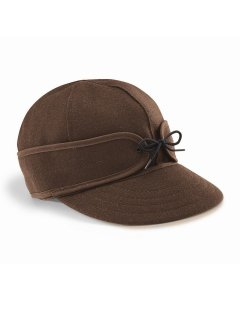 Stormy Kromer | The Original Cap Dark Brown<br/>ストーミークローマー オリジナルウールキャップ ダークブラウン<img class='new_mark_img2' src='https://img.shop-pro.jp/img/new/icons20.gif' style='border:none;display:inline;margin:0px;padding:0px;width:auto;' />