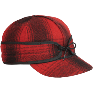 Stormy Kromer | The Original Cap Red/Black Plaid 7-5/8<br/>ストーミークローマー オリジナルウールキャップ レッド・ブラックチェック<img class='new_mark_img2' src='https://img.shop-pro.jp/img/new/icons20.gif' style='border:none;display:inline;margin:0px;padding:0px;width:auto;' />