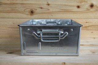 Tote Pan | TP2 Metal Tote Pans Galvanised Steel<br/>トートパン スチール製の収納箱