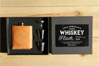 Loyal Stricklin | Signature Whiskey Flask Landscape Honey<br>ロイヤルストリックリン フラスコセット ランドスケープ ハニー