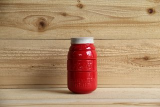 Ball Mason jar | Measuring Cups Red<br/>ボール メイソンジャー 陶器の軽量カップ レッド