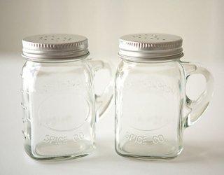 Ball Mason jar | Salt and Pepper Shaker<br/>ボール メイソンジャー ソルトアンドペッパー ホルダー