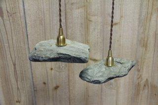 MANOMADE ORIGINAL | ISHITOME LAMP<br />マノメイドオリジナル イシトメ 石製シェードランプ