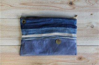 The Bandanna Almanac | CB-001 Handmade Clutch Bag<br />バンダナアルマナック ハンドメイドクラッチバッグ