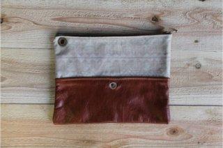 The Bandanna Almanac | CB-002 Handmade Clutch Bag<br />バンダナアルマナック ハンドメイドクラッチバッグ