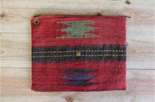 The Bandanna Almanac | CB-003 Handmade Clutch Bag<br />バンダナアルマナック ハンドメイドクラッチバッグ