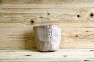 Root Pouch | Tan no handle Non-Degradable 1gal(3.8L)<br/>ルーツポーチ タン 持手なし 非分解性