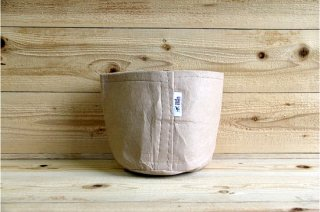 Root Pouch   Tan no handle Non-Degradable 2gal(8L)<br/>ルーツポーチ タン 持手なし 非分解性