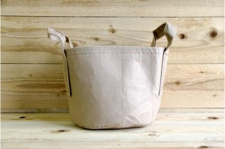 Root Pouch | Tan with handle Non-Degradable 3gal(12L)<br/>ルーツポーチ タン 持手付き 非分解性