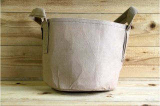 Root Pouch | Tan with handle Non-Degradable 5gal(16L)<br/>ルーツポーチ タン 持手付き 非分解性
