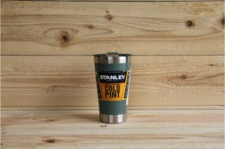 STANLEY | CLASSIC VACUUM INSULATED PINT GLASS 16oz<br />スタンレー クラシック真空パイント 0.47L グリーン