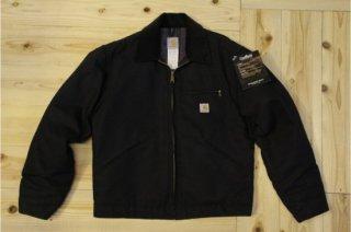carhartt | DUCK DETROIT JACKET/BLANKET-LINED BLACK<br/>カーハート ダックデトロイトジャケット ブラック