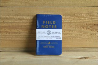 FIELD NOTES | COUNTY FAIR THREE 48-PAGE MEMO BOOK NEW YORK<br/>フィールドノート カウンティーフェア 3パック ニューヨーク