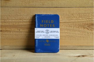 FIELD NOTES | COUNTY FAIR THREE 48-PAGE MEMO BOOK TEXAS<br/>フィールドノート カウンティーフェア 3パック テキサス