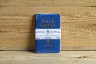 FIELD NOTES | COUNTY FAIR THREE 48-PAGE MEMO BOOK ARIZONA<br/>フィールドノート カウンティーフェア 3パック アリゾナ