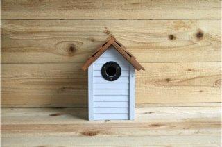 Gardman | BEACH HUT NEST BOX<br/>ガードマン 木製鳥小屋