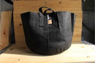 Root Pouch | Black with handle Degradable 20gal(78L)<br />ルーツポーチ ブラック 持手付き 生分解性