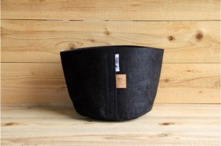 Root Pouch | Black no handle Non-Degradable 3gal(12L)<br/>ルーツポーチ ブラック 持手なし 非分解性
