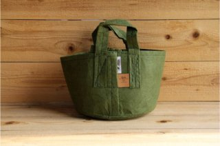 Root Pouch | Green with handle Non-Degradable 3gal(12L)<br/>ルーツポーチ グリーン 持手付き 非分解性