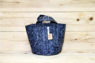 Root Pouch   Grey with handle Degradable 2gal(8L)<br/>ルーツポーチ グレー 持手付き 生分解性