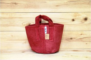 Root Pouch | Red with handle Non-Degradable 2gal(8L)<br/>ルーツポーチ レッド 持手付き 非分解性