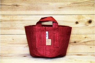 Root Pouch | Red with handle Non-Degradable 3gal(12L)<br/>ルーツポーチ レッド 持手付き 非分解性