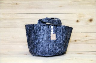 Root Pouch   Grey with handle Non-Degradable 3gal(12L)<br/>ルーツポーチ グレー 持手付き 生分解性