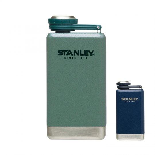 STANLEY | ADVENTURE SS FLASK 5oz<br>スタンレー SSフラスコ 0.14L ネイビー