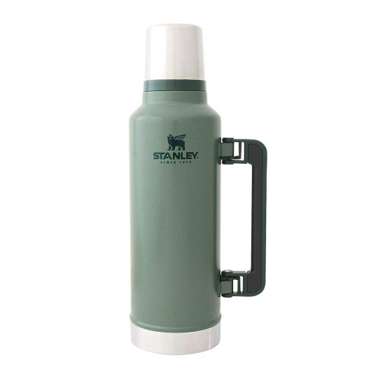 STANLEY | CLASSIC LEGENDARY BOTTLE 2Qt<br/> 新ロゴ スタンレー クラシック真空ボトル 1.9L グリーン