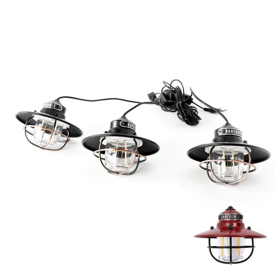 Barebones Living | Edison String Lights<br />ベアボーンズリビング エジソンストリングライトLED