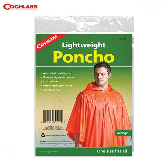 COGHLAN'S   Lightweight Poncho<br/>コフラン ライトウェイトポンチョ