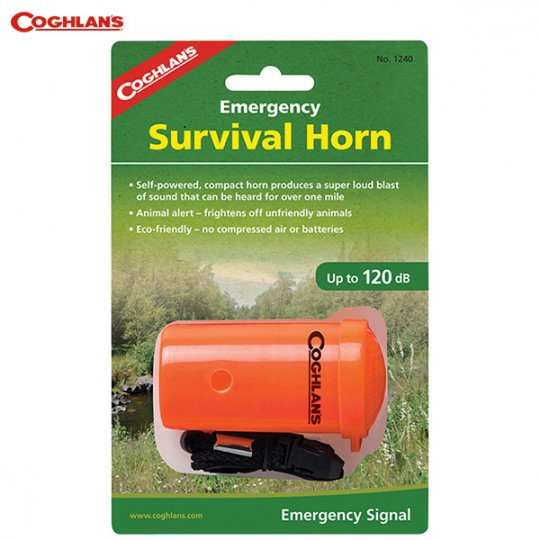 COGHLAN'S   Amergency Survival Horn<br/>コフラン エマージェンシーサバイバルホーン