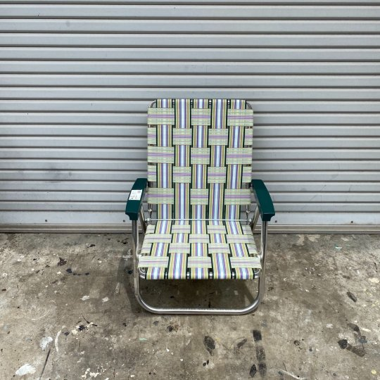 Lawn Chair | High Back Beach Chair Spring Fling<br>ローンチェア ハイバックビーチチェア スプリングフリング<img class='new_mark_img2' src='https://img.shop-pro.jp/img/new/icons5.gif' style='border:none;display:inline;margin:0px;padding:0px;width:auto;' />