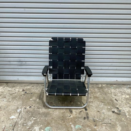 Lawn Chair | High Back Beach Chair MIdnight<br>ローンチェア ハイバックビーチチェア ミッドナイト