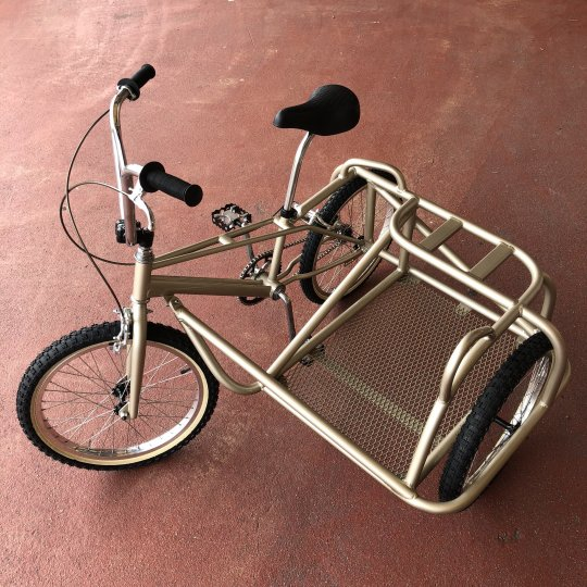 manomade 80's BMX & original sidecar