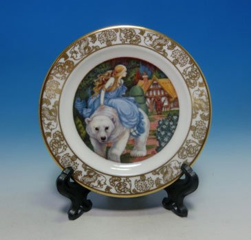 <img class='new_mark_img1' src='http://thimblesweets.jp/img/new/icons12.gif' style='border:none;display:inline;margin:0px;padding:0px;width:auto;' />FRANKLIN PORCELAIN 1981  THE BEST LOVED FAIRY TALES �����ۤ����������ߥ˥��奢�ץ졼��