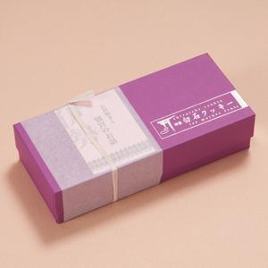 神宮白石クッキー 21個入 箱色・紫